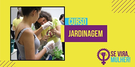 Mini-Curso de Jardinagem: Mini-Hortas ingressos