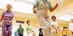 Active Adult Line Dance