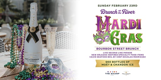 Mardi Gras Bourbon Street Brunch at The Wharf Miami