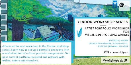 Artist Portfolio Workshop for Visual & Performing Artists tickets