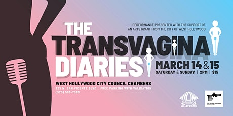 The Transvagina Diaries  tickets
