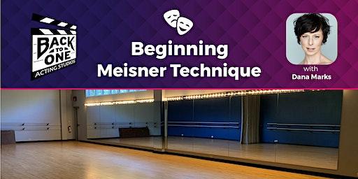 Beginning Meisner Technique