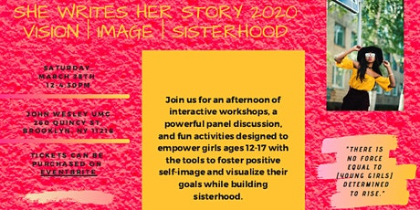 She Writes Her Story 2020: Vision. Image. Sisterhood. tickets