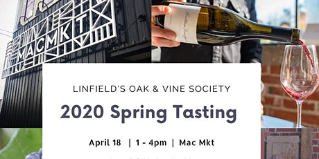 April 18 Oak & Vine Spring Tasting  tickets