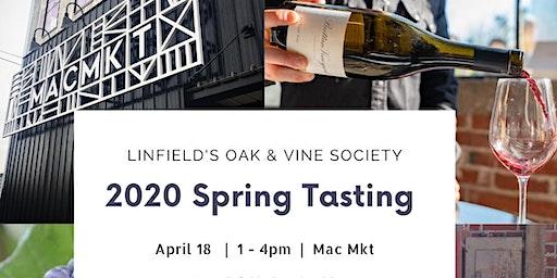 April 18 Oak & Vine Spring Tasting