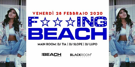 F***ing Beach - Friday 28th February - Hip Hop & Reggaeton biglietti