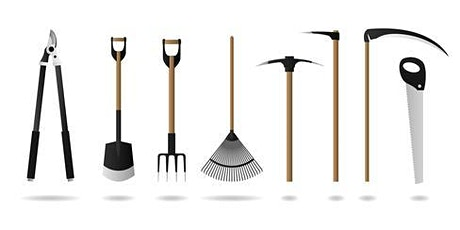 How to Clean Your Garden Tools  - Saturday 2/29 - 12:30 am - 1:00 pm at the PLANT FESTIVAL TODAY!!!  tickets