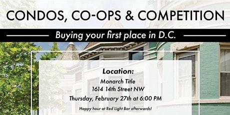 Condos, Co-Ops & Competition tickets