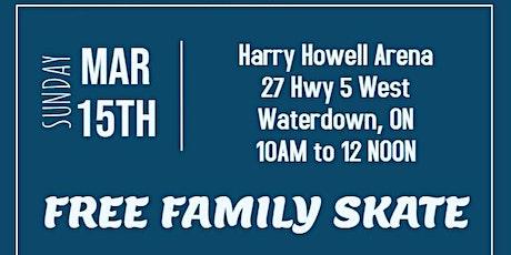 March Break Family Skate tickets