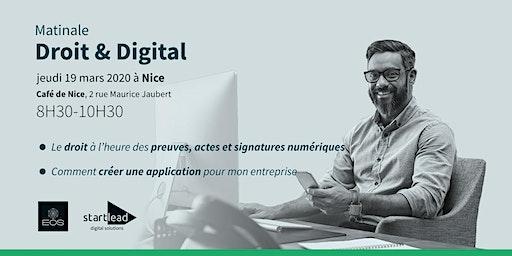 Matinale Droit & Digital