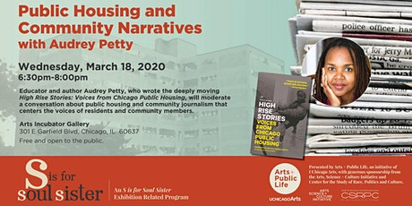 Public Housing and Community Narratives with Audrey Petty tickets