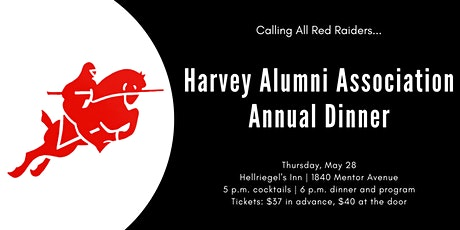 Harvey Alumni Association's Annual Dinner tickets