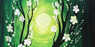 Paint Night at the Library Wine and Bristro