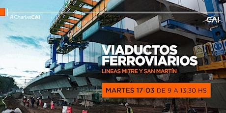 CharlaCAI: Viaductos Ferroviarios. Líneas Mitre y San Martín entradas