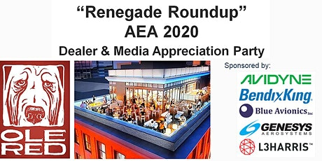 """""""Renegade Roundup at AEA2020 """" tickets"""