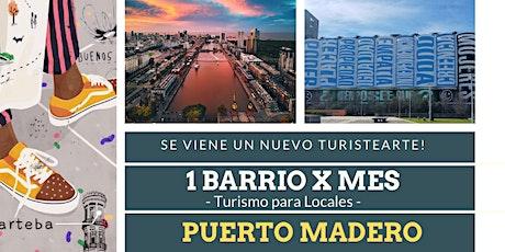 Turistearte Puerto Madero (Abierto y a la gorra!) entradas