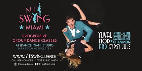 New Session of Miami Swing Dance Classes (March-April) tickets