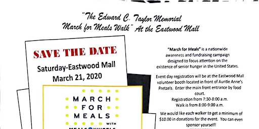 Trumbull Mobile Meals Eastwood Mall Walk