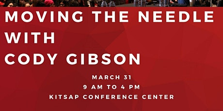 Moving the Needle with Cody Gibson tickets
