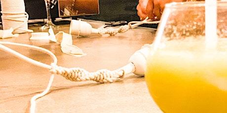 Adult Craft Night: DIY Macrame Rope Light tickets