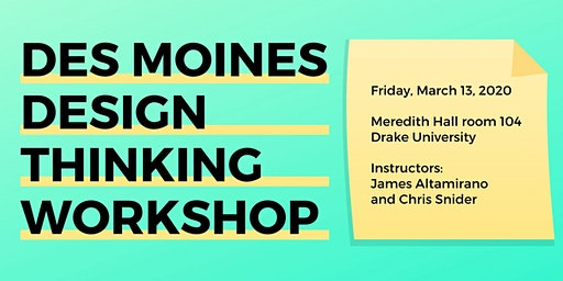 Des Moines Design Thinking Workshop