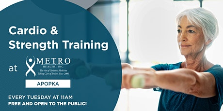 Free Cardio + Strength Training at Metro Health Apopka tickets