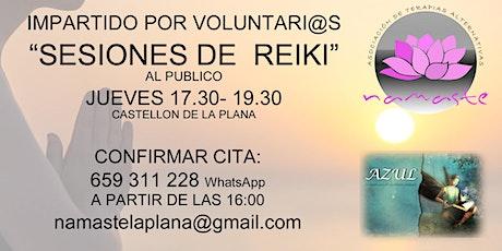 """Sesiones De Reiki"""" todos los Miercoles entradas"""