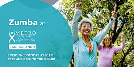 Free Zumba at Metro Health East Orlando tickets