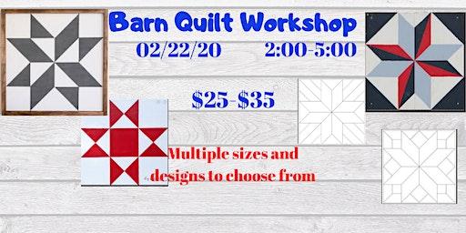 Barn Quilt Workshop