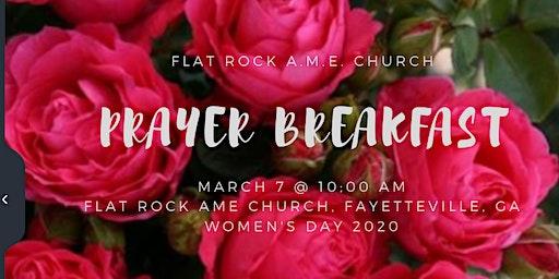 Flat Rock AME Church Women's  Prayer Breakfast
