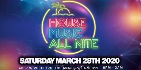 House Music All Nite tickets