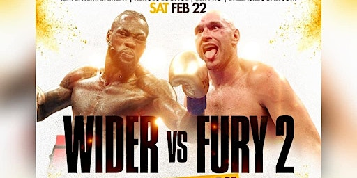 WILDER vs FURY 2 | Official Fight Party - After Party