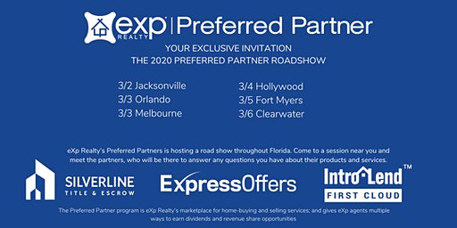 eXp Preferred Partner Roadshow: Clearwater, FL