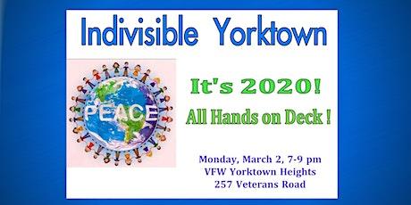 Indivisible Yorktown 2020 Kickoff!  tickets
