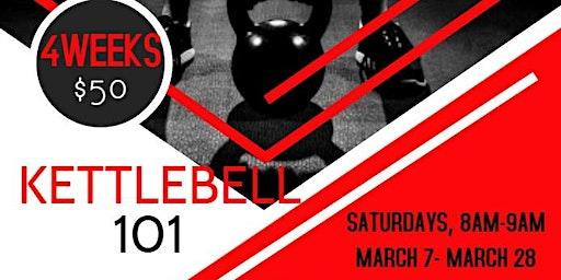 4-Week Kettlebell 101 Workshop