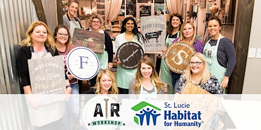 Friday Night DIY and Social with St. Lucie Habitat for Humanity