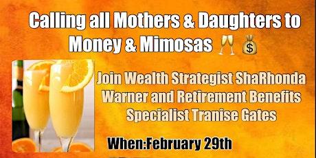 Money & Mimosas tickets
