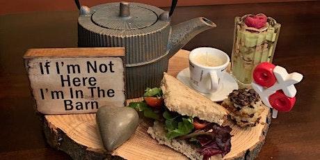 High Noon Tea + Creative Food tickets