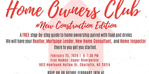 Home Buyer Club - New Construction Edition