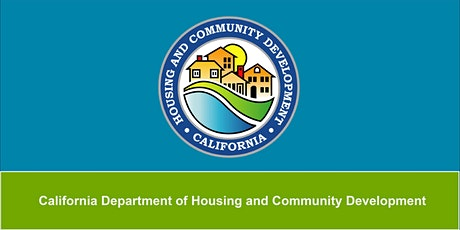 HCD 2020-2024 Fair Housing Statewide Kick Off Webinar tickets