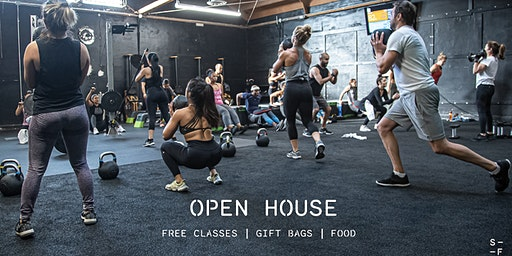Sanctuary Fitness DTLA Open House (Feb)