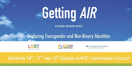 ISDN's Getting AIR: Acceptance, Inclusion Respect Meeting tickets