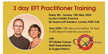 3 Day EFT Practitioner Training Course tickets