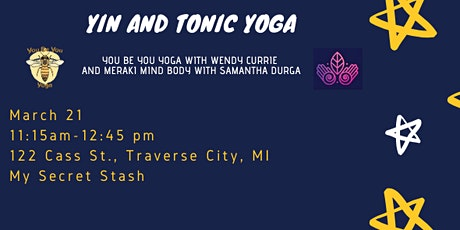 Yin and Tonic Yoga tickets