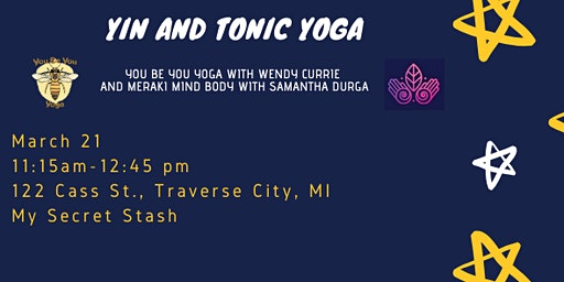 Yin and Tonic Yoga