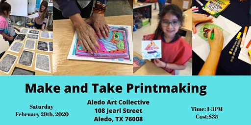 Make and Take Printmaking Workshop