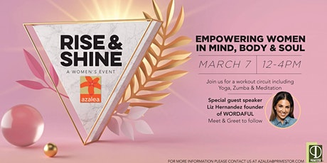 Rise & Shine, A Women's Event tickets