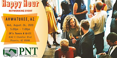 08/26/20 PNT Ahwatukee-Laveen Happy Hour Networking Event tickets