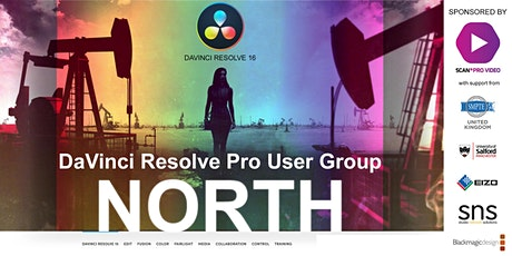 DaVinci Resolve Pro User Group - North tickets