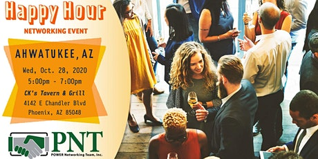 10/28/20 PNT Ahwatukee-Laveen Happy Hour Networking Event tickets